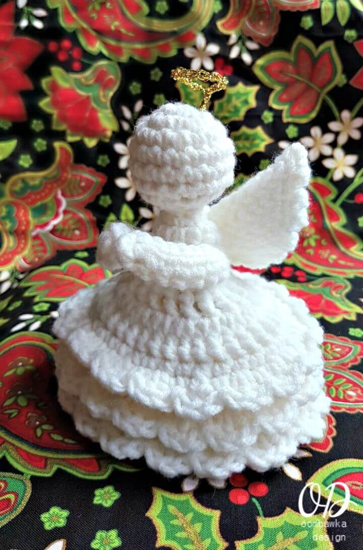 Lovely Angel crochet pattern - Amigurumi Today | 1091x720