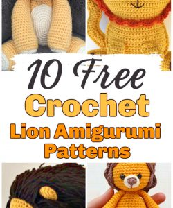 Free Crochet Patterns for Toys & Kids - Red Ted Art - Make ... | 300x250