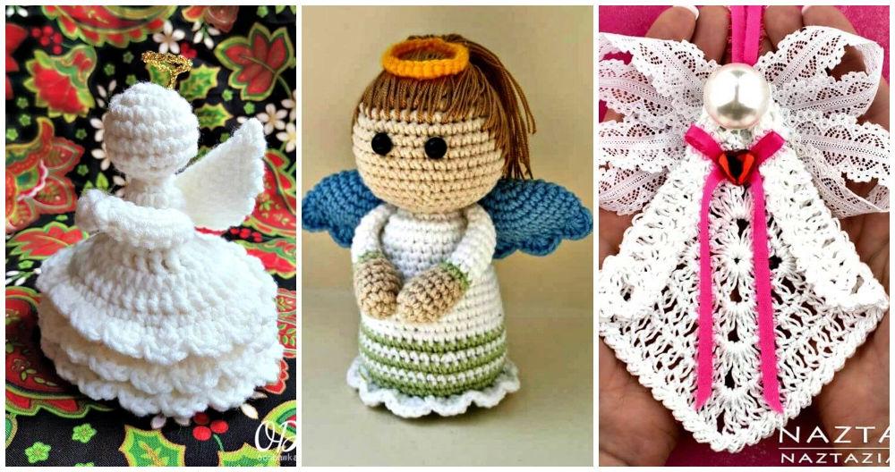 Angel Crochet Pattern - YouTube | 528x1000