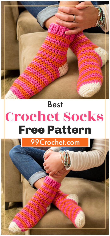 free Crochet Socks Pattern