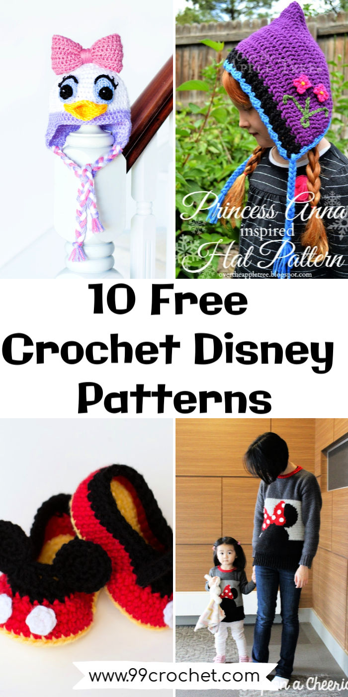 Disney Princess Crochet (With images) | Crochet princess, Crochet ... | 1400x700